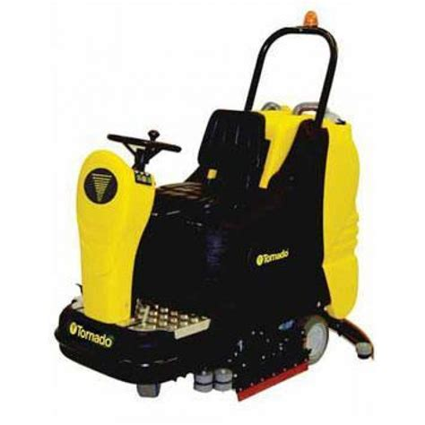 Tornado Floor Scrubber Pads by Tornado 174 Br 33 30 Cylindrical Ride On Automatic Floor Scrubber