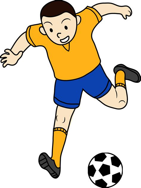 Soccer Player Clipart Soccer Player Clipart Black And White Clipart Panda