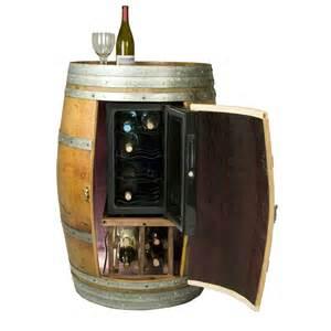 Barrel Sinks by Solid Oak Wine Barrel Cabinet Wine Chiller