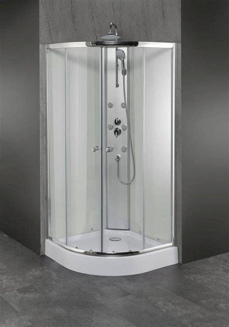 duschkabine mit schiebetür komplettdusche 187 modena 171 viertelkreisdusche 90 cm x 90 cm duschkabine kaufen otto