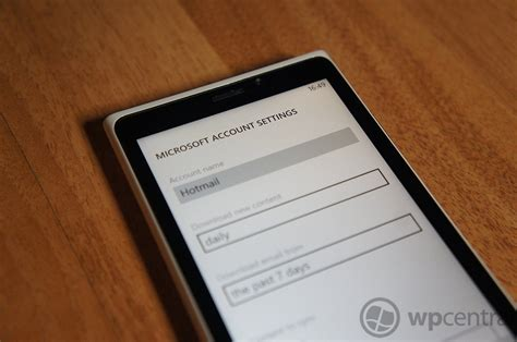 setting up a microsoft account for windows phone 8 windows central