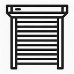 Blinds Roller Shutters Garage Icon Window Open