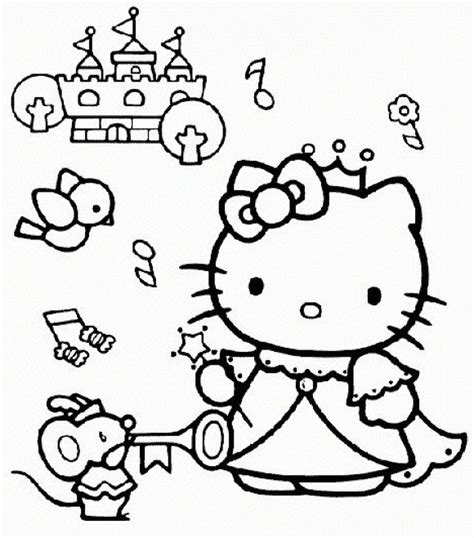 coloring pages for girls hello kitty BestAppsForKids com