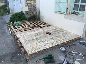Terrasse Avec Palette : la manufacture d 39 hfr make page 20 loisirs discussions forum ~ Melissatoandfro.com Idées de Décoration