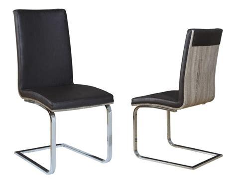 chaise salle de bain chaise sejour lathi 56 chene gris fonce