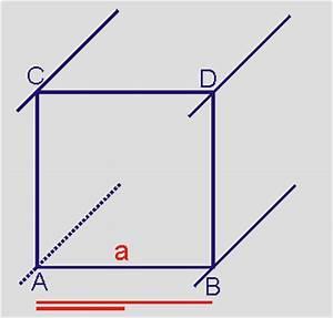 Kantenlänge Würfel Berechnen : ein schr gbild von w rfel und quader ~ Themetempest.com Abrechnung