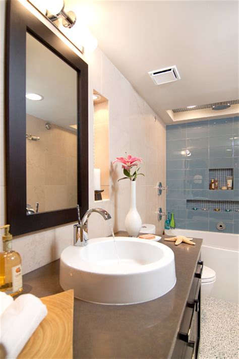 condo bathroom ideas condo small bath transitional transitional bathroom other metro by in detail interiors