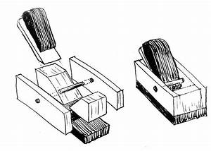 Wooden Finger Plane Exploded Diagram  With Images