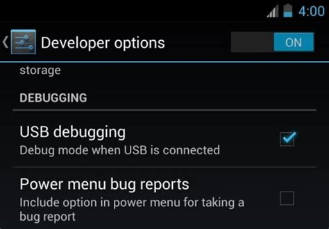 android developer options hmkcode code