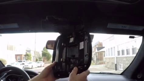 remove map lights overhead console youtube