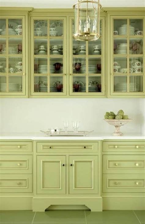 green kitchen cabinet paint colors kitchen