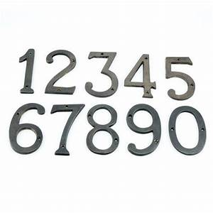 solid brass floating house numbers house numbers and With brass address numbers and letters