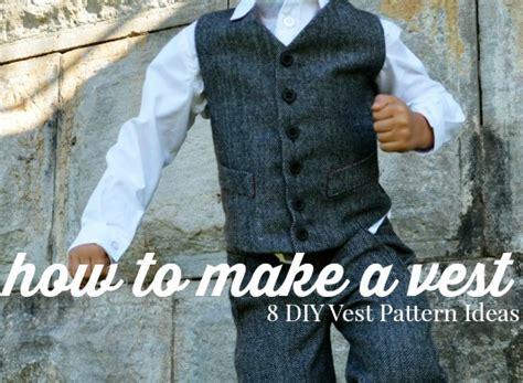 vest  diy vest pattern ideas