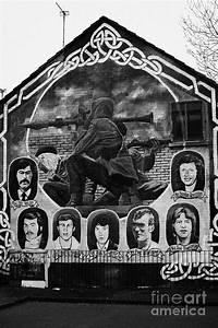 Ira, Wall, Mural, Belfast, Photograph, By, Joe, Fox