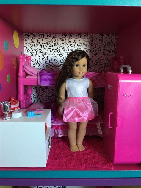 american girl dollhouse  ikea stuva bunk beds