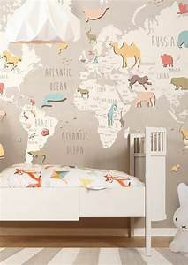 Tapete Weltkarte Kinderzimmer : tapeten kinderzimmer passende farben und motive ausw hlen ~ Sanjose-hotels-ca.com Haus und Dekorationen
