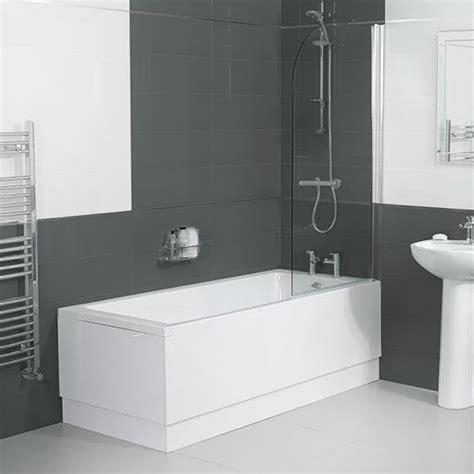 Carona 1800 X 800 Single Bath With Screen