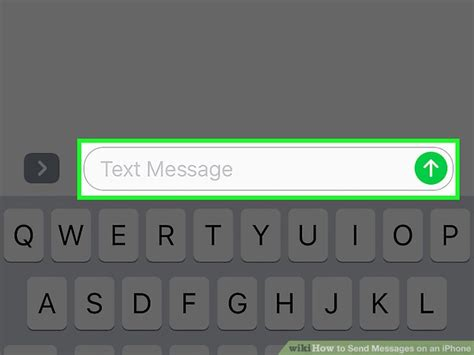 how to send message on iphone how to send messages on an iphone 8 steps with pictures