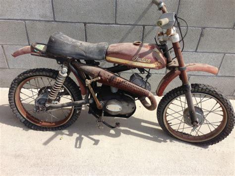 Vintage Indian Motorcycle Dirt Bike Jc-54 Jc54