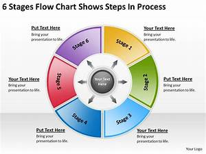 Business Flow Diagrams 6 Stages Chart Shows Steps Process