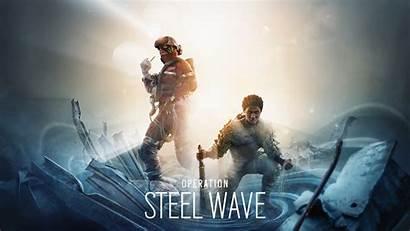 Siege Rainbow Six Wave Steel Tom Operation