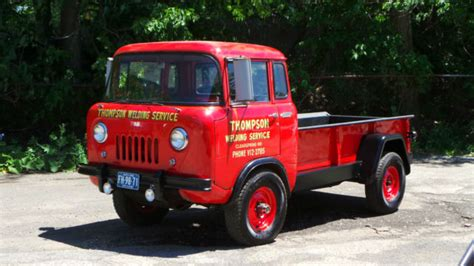 jeep forward control 1961 willys jeep forward control truck un restored all