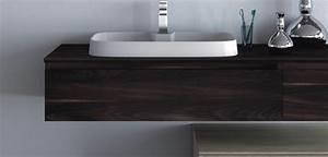 Waschtischplatte Holz Aufsatzwaschtisch : braune badm bel in matt oder hochglanz bad direkt ~ Sanjose-hotels-ca.com Haus und Dekorationen