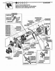 Pattern Selector Diagram  U0026 Parts List For Model 4228