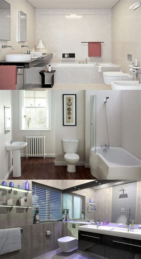 brilliant big ideas  small bathrooms