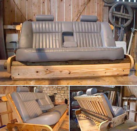 fabriquer canape fabriquer un canapé avec des objets recyclés des idées