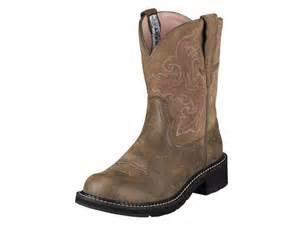 womens ariat fatbaby boots size 11 ariat fatbaby ii womens size 10 brown grain leather boots newegg com