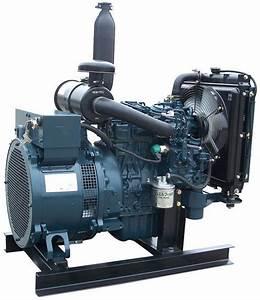 Electric Genset Diesel 35 Kva Generator Kubota D905