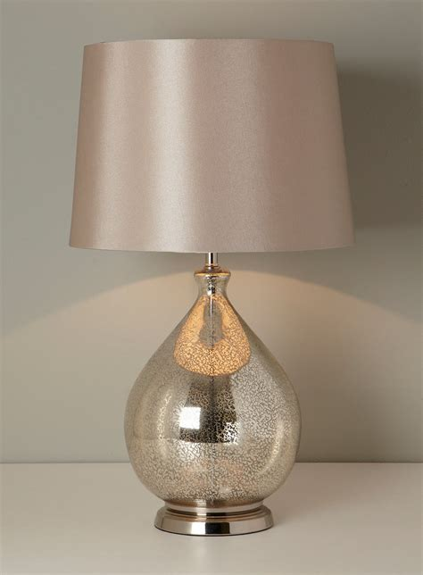 Glass Table Lamps For Living Room At Home Interior Designing
