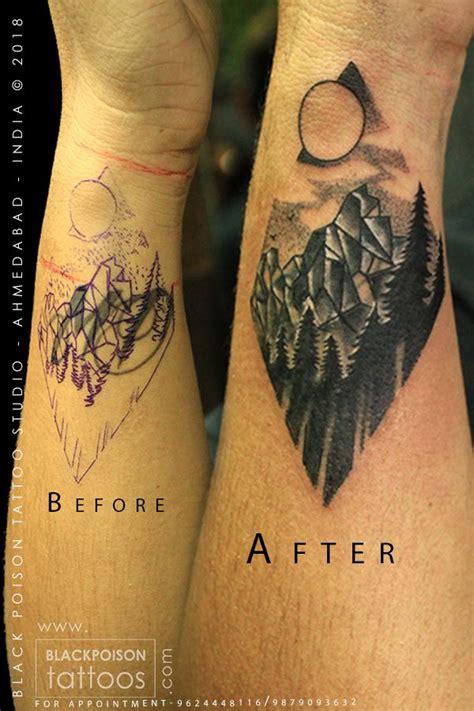 mountain tattoo mountaintattoo foresttattoo moutain