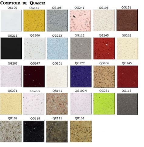 comptoir de cuisine quartz ou granit comptoir de quartz