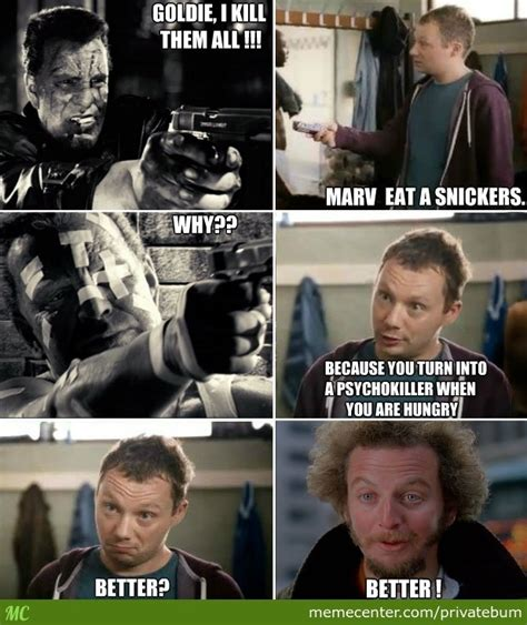 Snickers Commercial Meme - eat a snickers by privatebum meme center