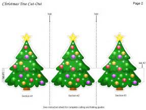 5 best images of christmas tree cutouts printable free printable christmas tree decorations