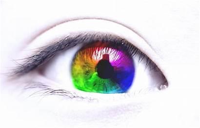 Eye Eyes Colorful Wallpapers Bokeh Background Desktop