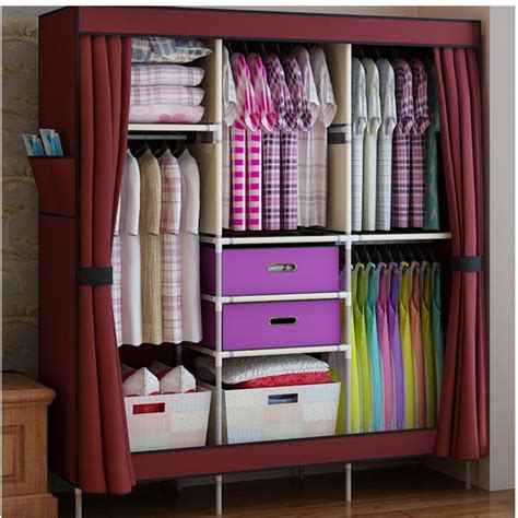 Small Cloth Cupboard by Portable Closets For Clothes Portable Closet Rack Home