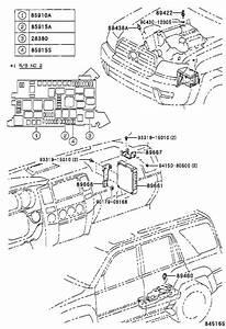 2004 Toyota 4runner Horn Relay - 9098702022