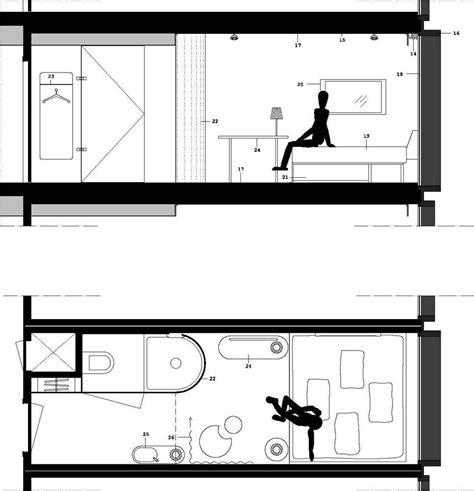 1 room cabin plans citizenm hotel in glasgow scotland by concrete architectural