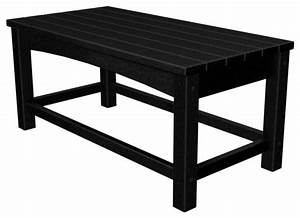 polywood eco friendly coffee table reviews houzz With eco friendly coffee table