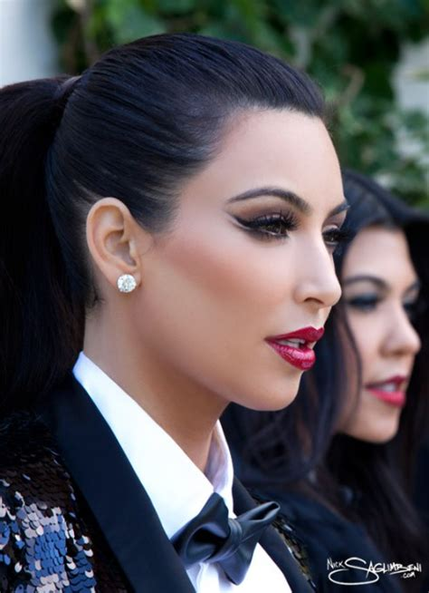 Maybe you would like to learn more about one of these? Kim Kardashian's Stunning Makeup For Her Christmas Card! | MakeupbyMandy24