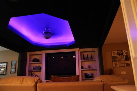 led color changing ceiling cove lighting contemporary