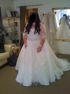fat arms dress with sleeves or dress with added shrug With wedding dresses for big arms