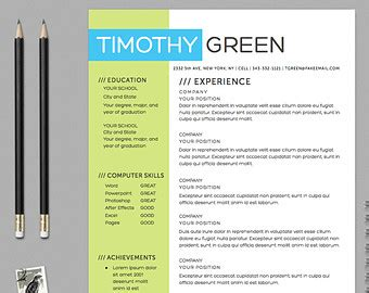 resume template word instant resume template