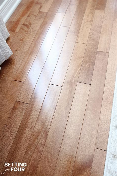 how to clean and shine hardwood floors deep cleaning your hardwood floors setting for four
