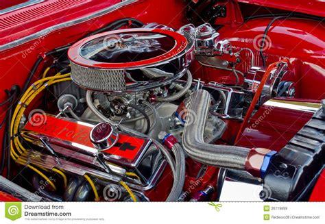 Chevrolet 327 Ci Engine Editorial Stock Image Image