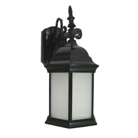 black exterior fluorescent led wall light fixture 16 5 quot 10 quot ebay
