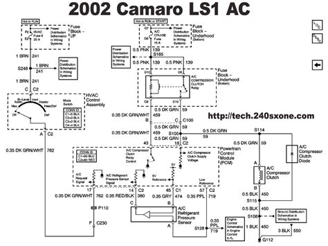 98 Camaro Engine Wiring Diagram by 240sxone Tech 187 Archive 187 Ls1 Ac Wiring